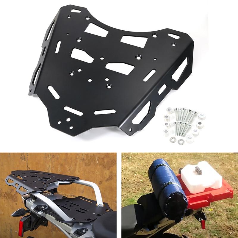 Для BMW R1200GS 2013-2018 R1200GS ПРИКЛЮЧЕНИЯ R1250 GS Приключения аксессуары для мотоциклов Задняя багажная стойка для груза алюминиевый