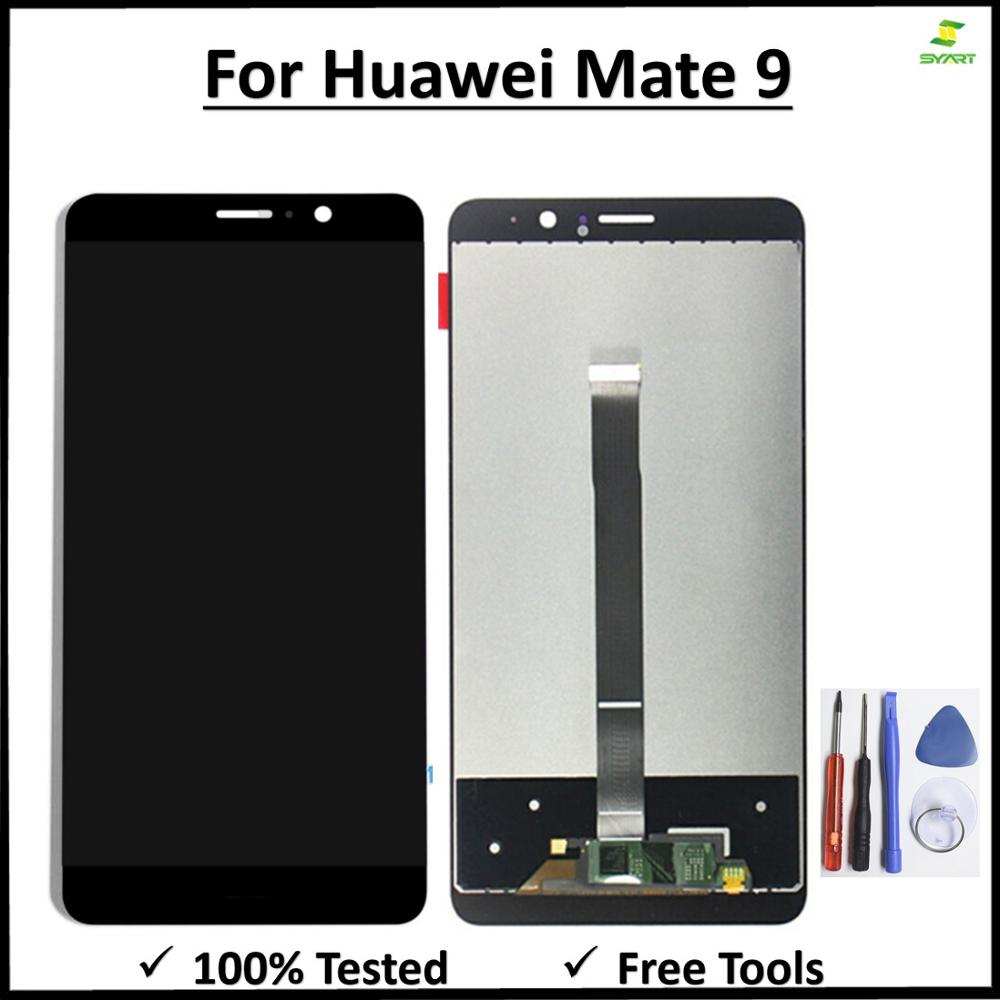 Touch Screen For Huawei Mate 9 LCD Display Digitizer Assembly For Huawei Mate9 MHA-L09 MHA-L29 Lcd No Dead Pixel + Lcd