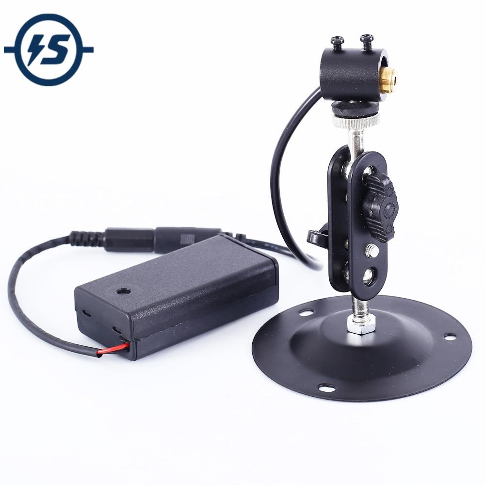 650nm 5mW 3V Red Dot Laser Module Red Laser Diode Laser Pointer Horizontal Positioning Light