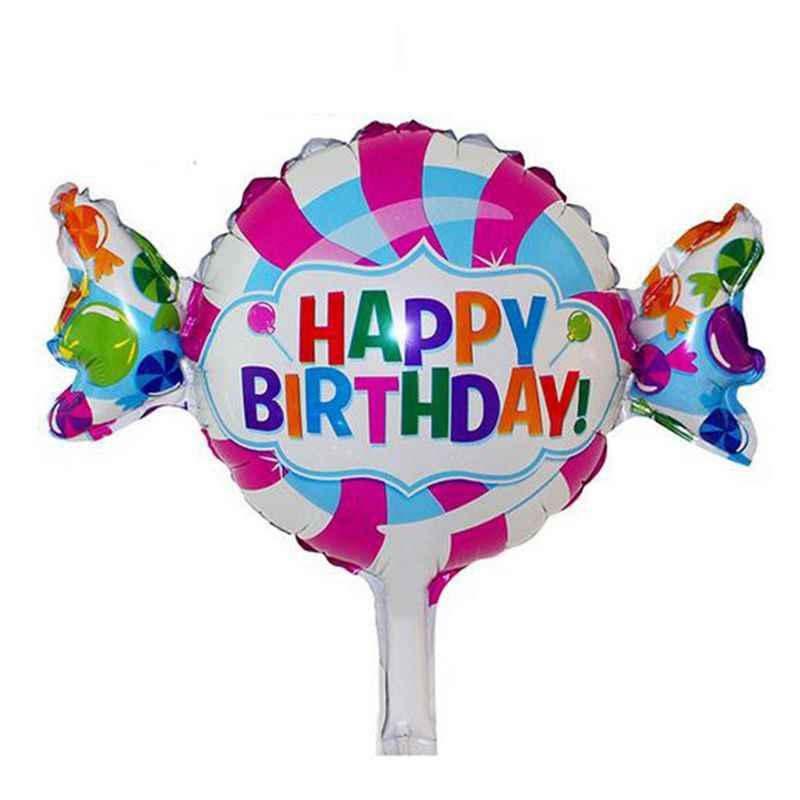 1 個 42*48 センチメートル小さなピンクブルーヘリウムバルーンプリンセスクラウン箔風船ハッピーバースデーウェディングパーティー赤ちゃん装飾