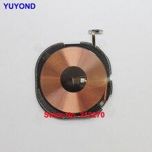 Yuyond original novo nfc clipe de carregamento sem fio painel de carga bobina para iphone xr xs/xs max com cabo flexível pré instalado