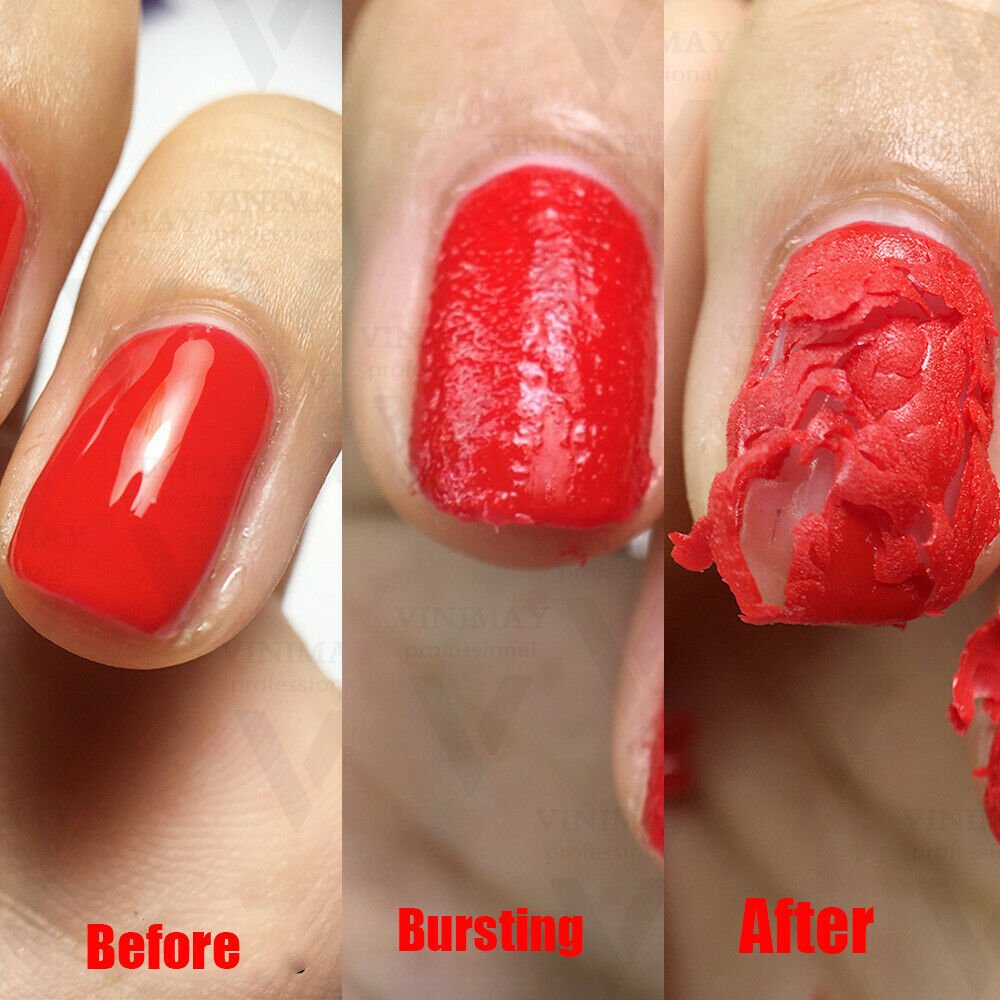 15ML Burst Magic Remove UV Nail Gel Remover 1 3 Minutes Soak off Nail Art Primer Acrylic Clean Degreaser TSLM1 in Nail Polish Remover from Beauty Health