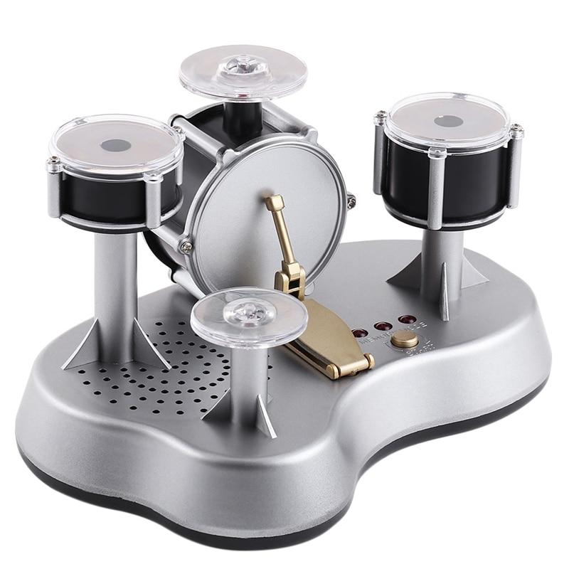 Настольный набор барабанов электронный мини нажимной барабан Настольный вдохновляющий слуховой творчество для настольного компьютера детская музыкальная игрушка|Барабан|   | АлиЭкспресс - Чем заняться осенью?