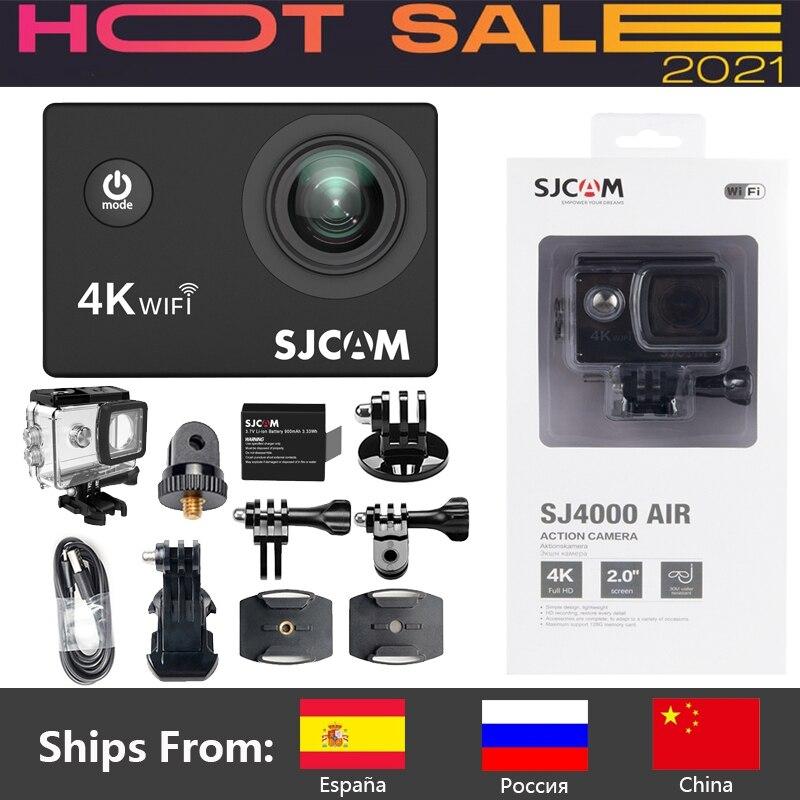 Original Sj4000 Air 4k Action Camera Full Hd Allwinner 4k 30fps Wifi 2.0