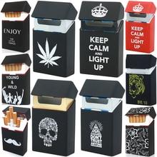 Soft Portable Silicone Cigarette Cases For 20 Cigarette Accessories Cigarette Box Gadgets For