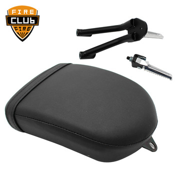Motorcycle Rear Passenger Seat Cushion and Footpegs Foot Pegs Rest Pedal Kit For Rebel CMX 300 500 CMX300 CMX500 2017 2018