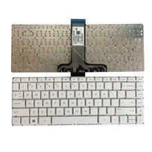 Clavier pour HP Stream 14 cb 14 CB011WM 14 CB012DX 14 CB012WM 14 CB164WM, anglais, blanc sans cadre, nouveauté clavier dordinateur portable US