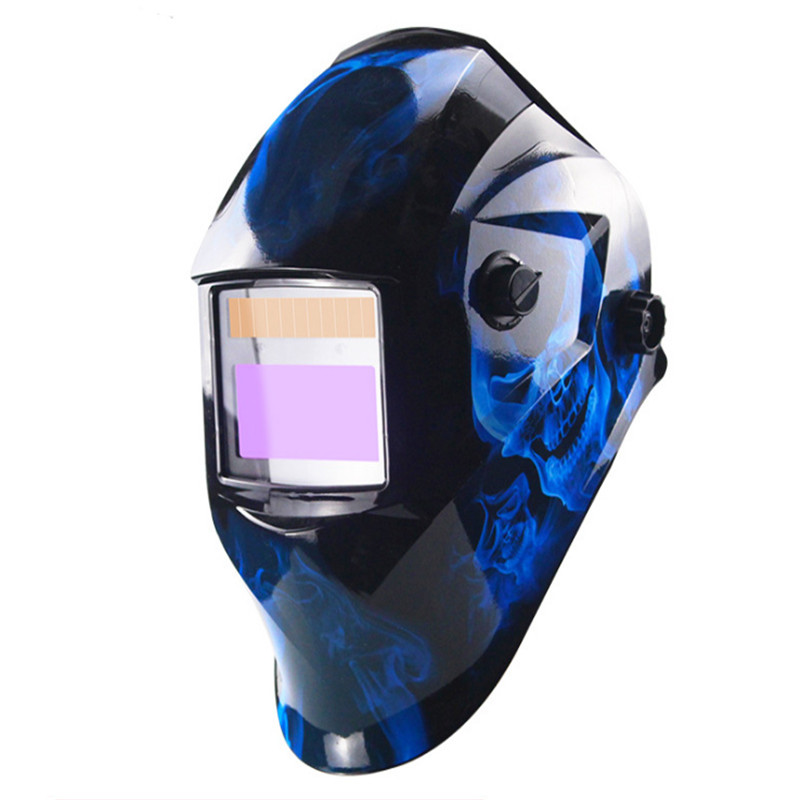 Auto Darkening Welding Helmet Adjustable Range MIG MMA Electric Welding Mask Helmet Welding Lens For Welding Machine