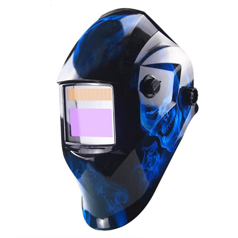 Auto Darkening Welding Helmet Adjustable Range MIG MMA Electric Welding Mask Helmet Welding Lens For Welding Machine