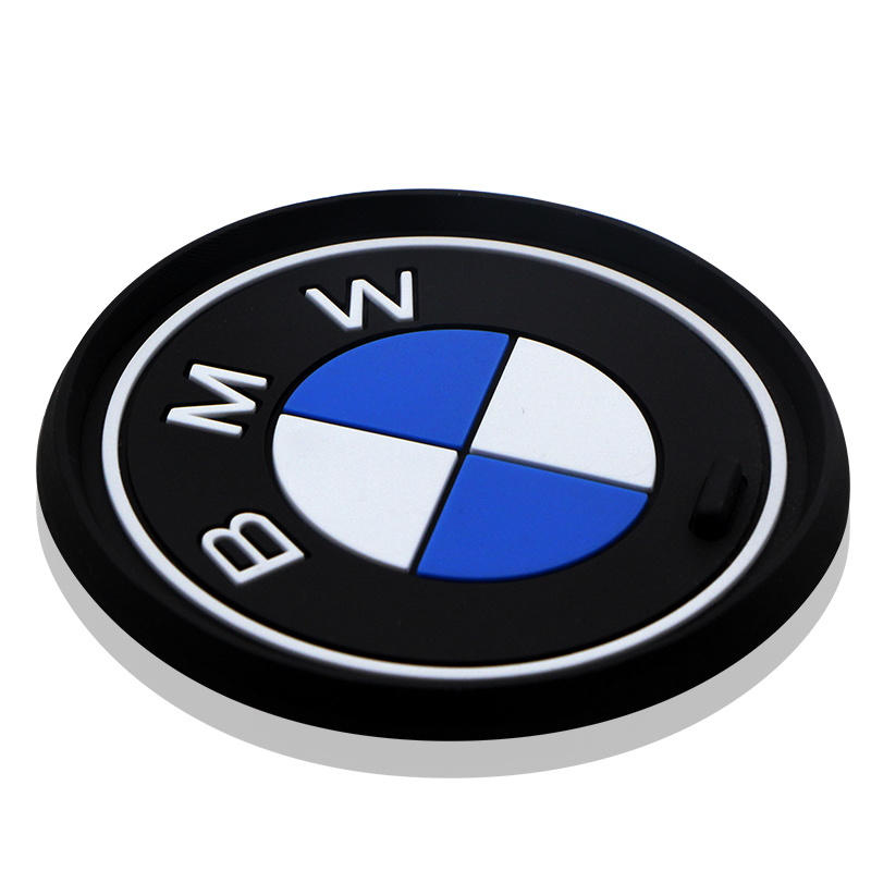 1pc Silicone Car Interior Water Cup Bottle Holder Anti-slip Pad Mat For Bmw E46 E90 E60 E39 F30 E36 F10 F20 E87 E92 E30 Styling