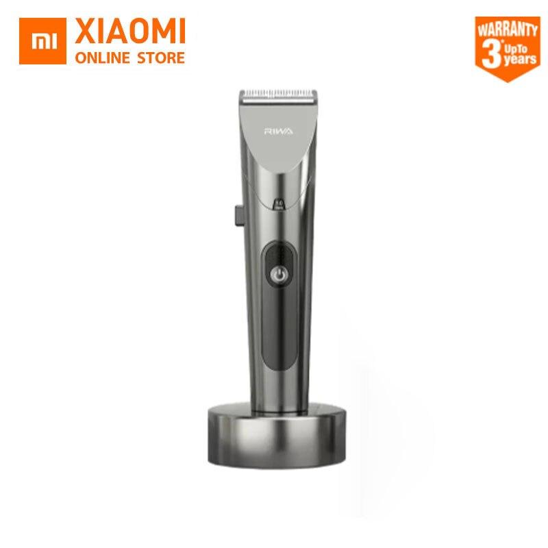 Новинка 2020 Xiaomi RIWA машинка для стрижки волос персональный электрический триммер перезаряжаемая мощная стальная режущая головка со светодиодным экраном Моющаяся|Машинки для стрижки волос|   | АлиЭкспресс