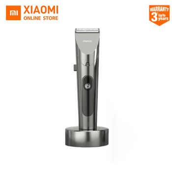 2020 neue Xiaomi RIWA Haar Clipper Persönliche Elektrische Trimmer Wiederaufladbare Starke Leistung Stahl Cutter Kopf Mit Led-bildschirm Waschbar