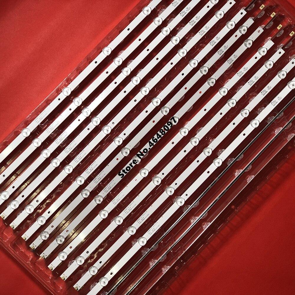 NWE 12set/lot  Ph Ilips 55PUF6051/T3 55'' Light Backlight Strip For 4708-K55WDR-A1213K11 4708-k550wd-a3213k21 A3213k31 K550WD7