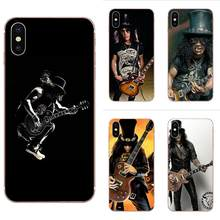 Coque Música Rock Barra Guitarras TPU Case Capa Do Telefone Para Apple iPhone 4 4S 5 5C 5S SE 6 6S 7 8 Plus X XS Max XR(China)