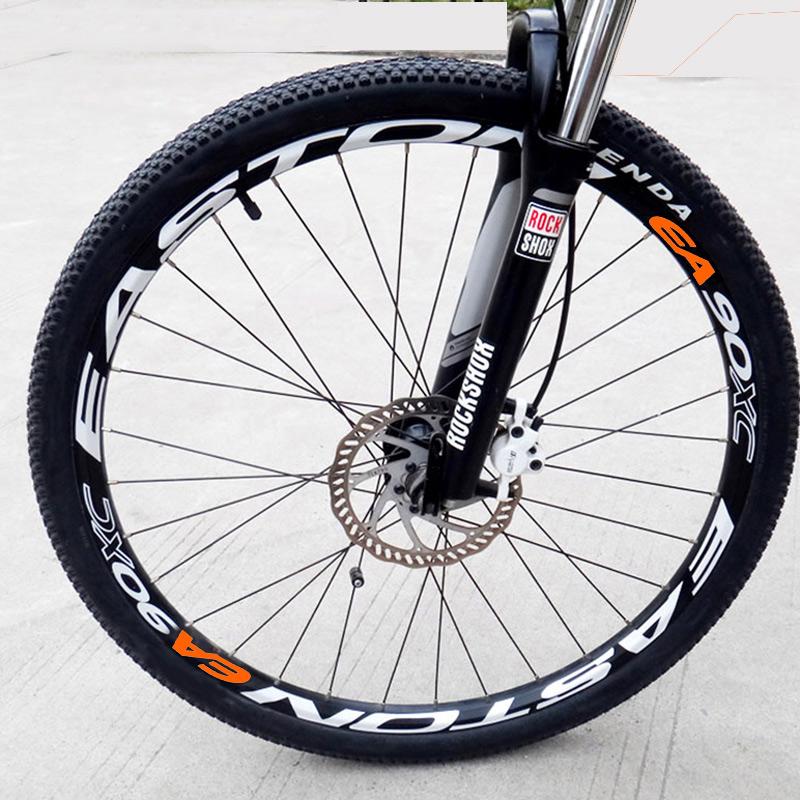 Wheel Stickers Set for DT Mountain Bike Bicycle Cycle Decal Rim Race Reflective
