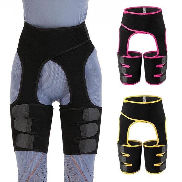 Female Abdominal Trainer Neoprene Buttocks Body Shaper Posture Correction Back Support Shoulder Belt Abdomen Sweating Girdle