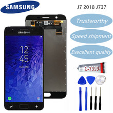 Samsung Galaxy J7 2018 J737 LCD J737A J737P J737V J737T LCD Display Touch Screen Digitizer Replacement Can Adjust Brightness