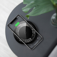 10W 15W Fast Wireless Charger For Samsung Galaxy S10 S9/S9+ S8 Note 9 USB Qi Charging Pad For IPhone 11 Pro XS Max XR X 8 Plus Wireless Chargers Cellphones & Telecommunications -