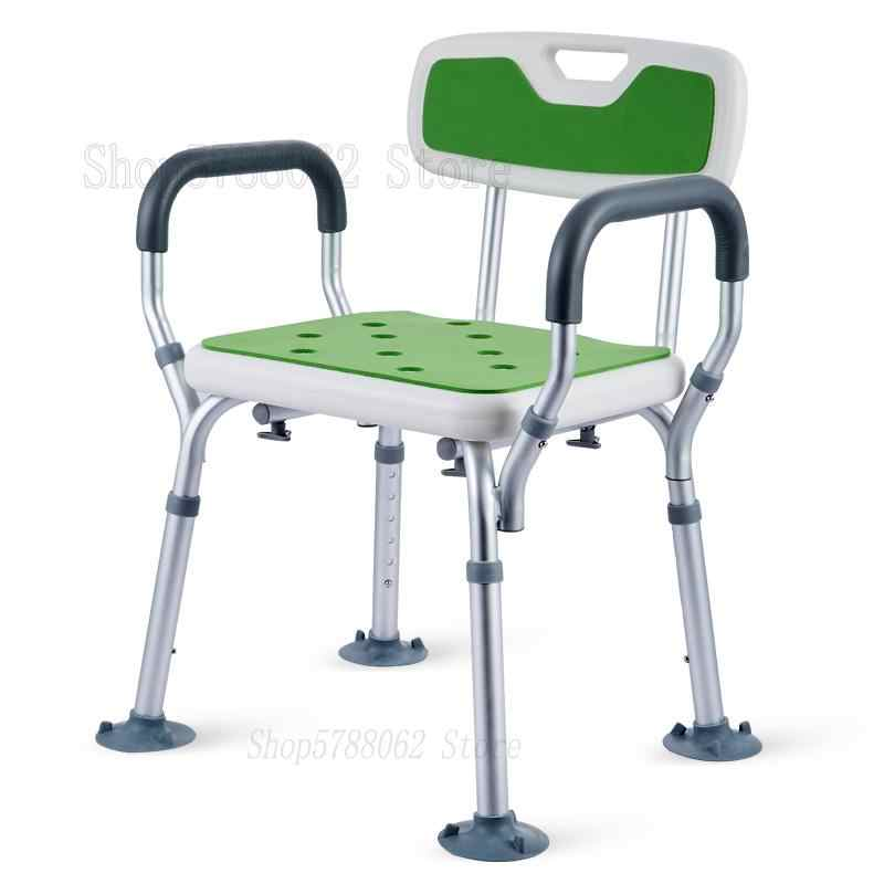 Lightweight Height Adjustable Bath Shower Chair Best Shower Bench Safety Seat Shower Stool For Elderly Handicap Heavy Duty Bathroom Chairs Stools Aliexpress