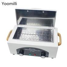 Высокотемпературный дезинфекционный шкаф для маникюрного салона стерилизатор портативный косметический инструмент стерилизатор