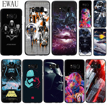 EWAU Star Wars Darth Vader Yoda Silicone phone case for Samsung S6 S7 Edge S8 S9 S10 plus S10e Note 8 9 10 M10 20 30 40(China)