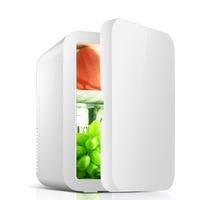 Single Doo 1 8L Portable Refrigerator 12V Car Fridge Mini Fridges Home Mini Refrigerator 220V Refrigerator Fridge