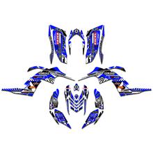Dla Yamaha Raptor 700 700R YFM700 naklejki grafiki naklejka 2006 2007 2008 2009 2010 2011 2012 tanie tanio MXGRAPHIC CN (pochodzenie) Naklejki i naklejki Motorcycle Decal 1 2kg 0inch