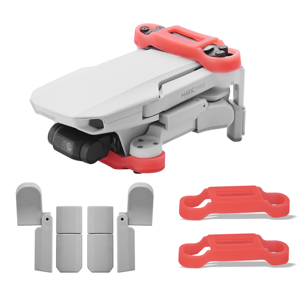 Extended Landing Gear Leg Support Protector Extension Propeller Bracket Protect Stabilizer For DJI Mavic MINI Drone Accessories