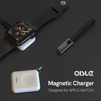 Mini Wireless Charger Watch charger Quick Charge Dock Cellphones & Telecommunications