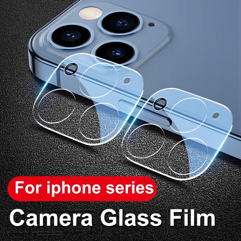 Закаленное стекло для объектива камеры iPhone 11 12 Pro XS Max X XR, Защита экрана для iPhone 11 Pro 7 8 6 6S Plus SE 2020, стекло для камеры