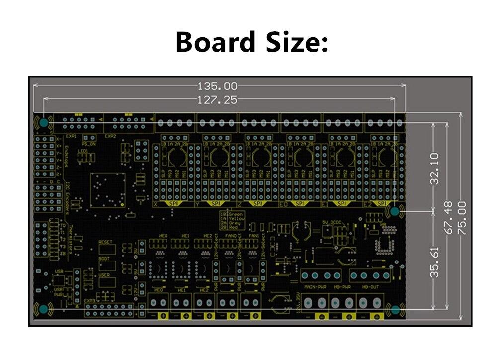 v1.1 tmc2130 para acessórios de impressora 3d