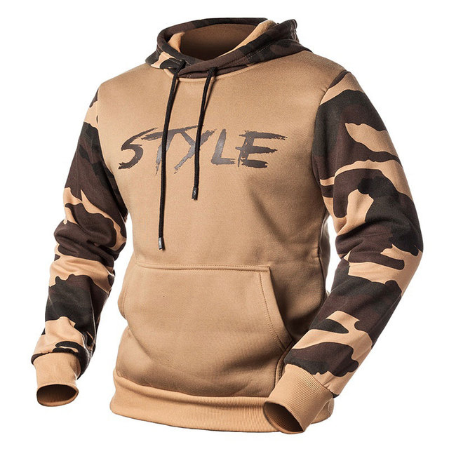 Fashion Camouflage Hoodies Men Spring Casual Fashion Pullover Fleece Hooded Sweatshirt Man Military Camo Hoody Jacket 2020 S-4XL