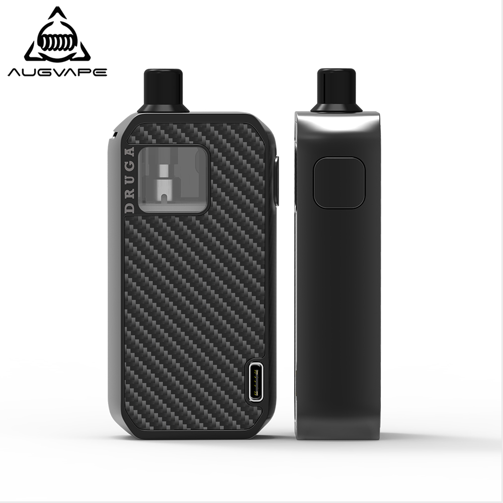 Augvape Druga Narada Pod Vape Kit Built-in Battery 2.8ml DL/MTL/RBA 0.5ohm 0.6ohm Coils RBA Build Deck Electrnic Cigarette Pod