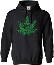Adulto folha mágica gigante malijuana 420 moletom com capuz e swearshirt