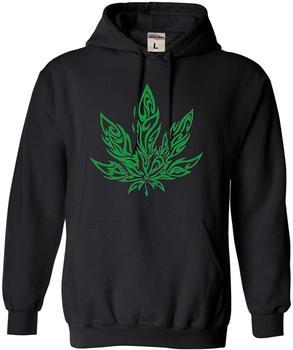 Adult giant magic leaf malijuana 420 Sweatshirt Hoodie & swearshirt фото
