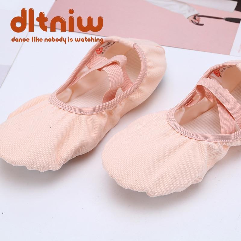 Lace Free Yoga Fitness Dance Shoes Ballet Shoes for Children Kids Soft Bottom Aerobics Shoes Dance Shoes