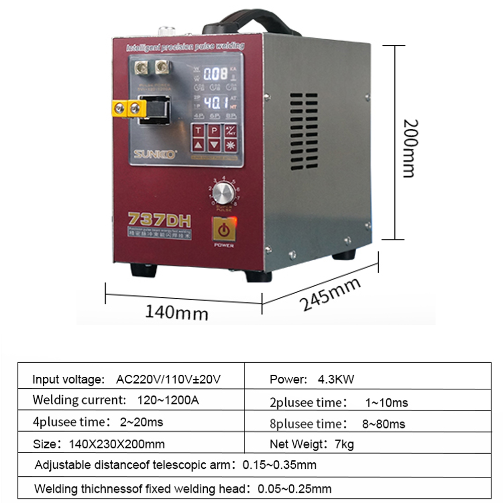 18650 For 3KW Power Welder Spot Battery Upgraded Weld Spot Spot Automatic High 4 Newly Machine Use Welding Delayed Pulse Welding