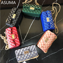 Women Bag Female Handbags Leather Over Shoulder Bag Crossbody Quilted Chain Diamond Red Small Flap Lock Fashion Sling Lady Bags mara s dream free shipping fashion leather small flap women crossbody bag chain messenger shoulder bag lady handbags