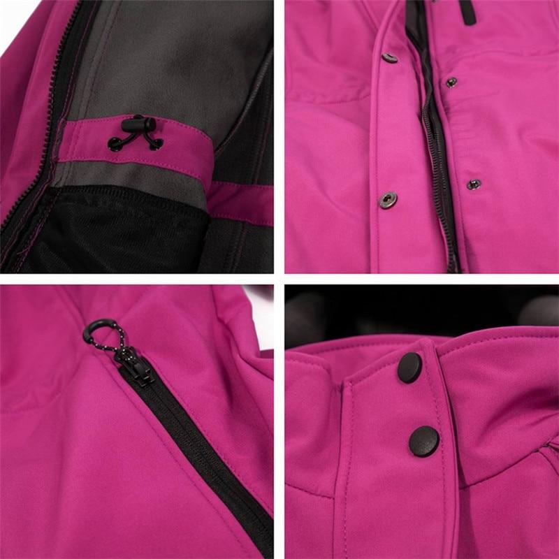 jaqueta softshell feminino ao ar livre mid length 05