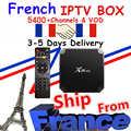 Franse IPTV Box X96MINI Android7.1 Box IPTV smarters NEO Europa Frankrijk Arabisch Football match Smart TV Box Top tv Box