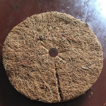 10 sztuk kokosowa ściółka pokrywa ściółka płyta doniczkowe rośliny ochrona zimowa kokosowa ściółka pokrywa rośliny pokrywa wycieraczka kokosowa do ogrodnictwa tanie i dobre opinie CN (pochodzenie) Z włókna roślinnego