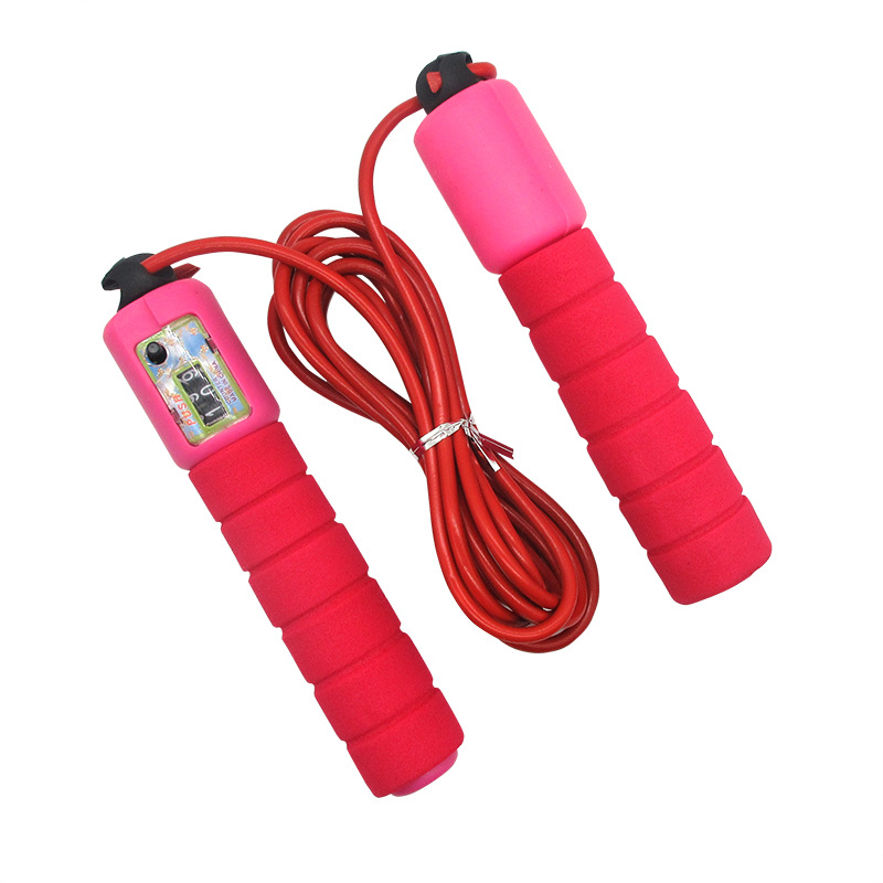 Manufacturers Direct Selling Sponge Count Jump Rope Sports Exam Jump Rope Adult Children Jump Rope A Generation Of Fat