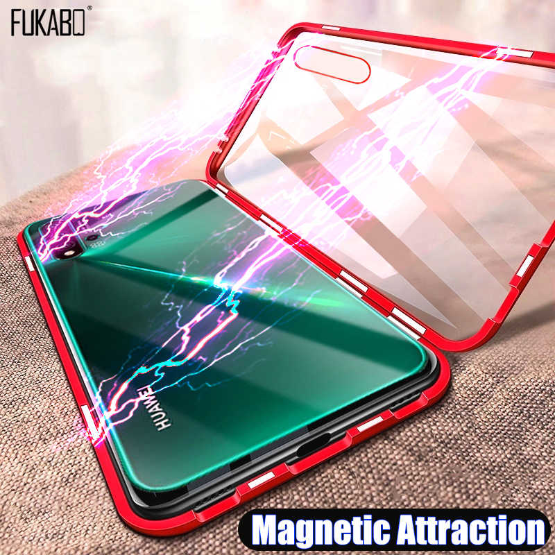 Magnetic Adsorption Case For Huawei P30 P20 Mate 20 Pro Lite P Smart 2019 Shockproof Cover For Huawei Mate 20 10 Honor 10 Lite
