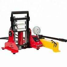 Imprensa hidráulica de 6x12cm 15 toneladas da resina 3 placas de aquecimento máquina da imprensa da resina do extrator de óleo n° ap1805