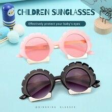 High Quality Children Sunglasses Fashion Baby Sunflower Glasses Boys