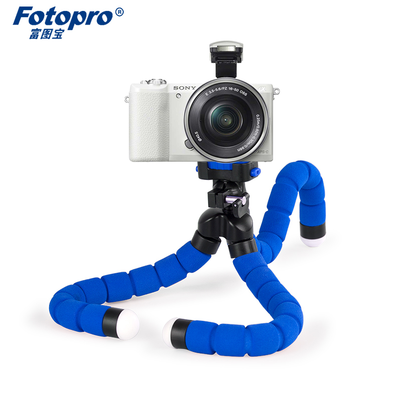 Fotopro Octopus Tripod mobile phone portable bracket universal outdoor mini micro single tripods Sticks Support <font><b>Frame</b></font> Stand image