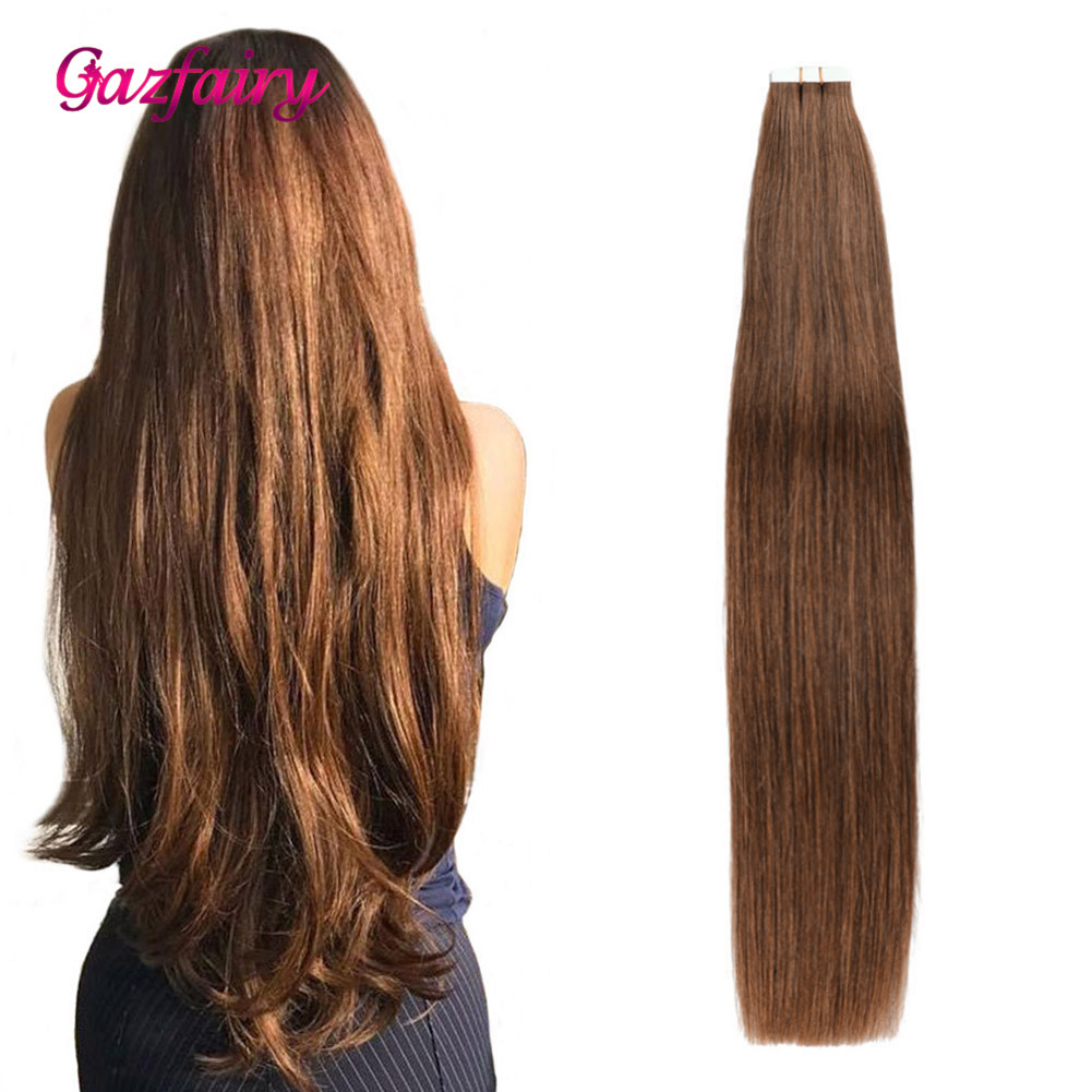 Gazfairy Tape In Remy Hair Extensions 2.5g/pc 20