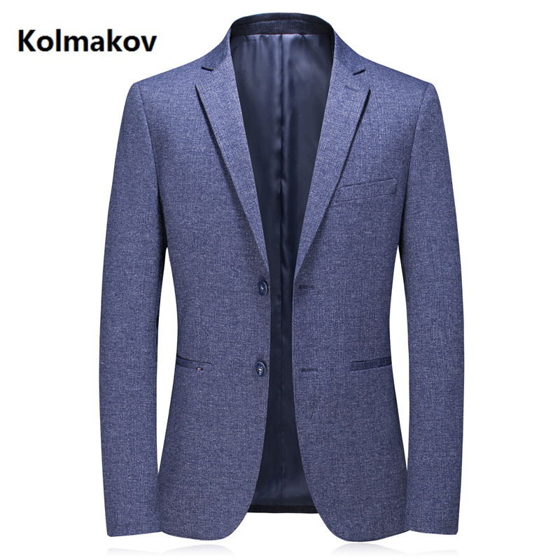 2020 New Arrival Mens Spring Blue Business Blazers Casual Blazer Men,men's Fashion Casual High Quality Jackets