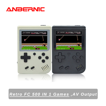 ANBERNIC-وحدة تحكم ألعاب فيديو BittBoy Retro ، مشغل ألعاب محمول ، تلفزيون صغير 8 بت ، لعبة sup ، 168/500 لعبة ، هدية