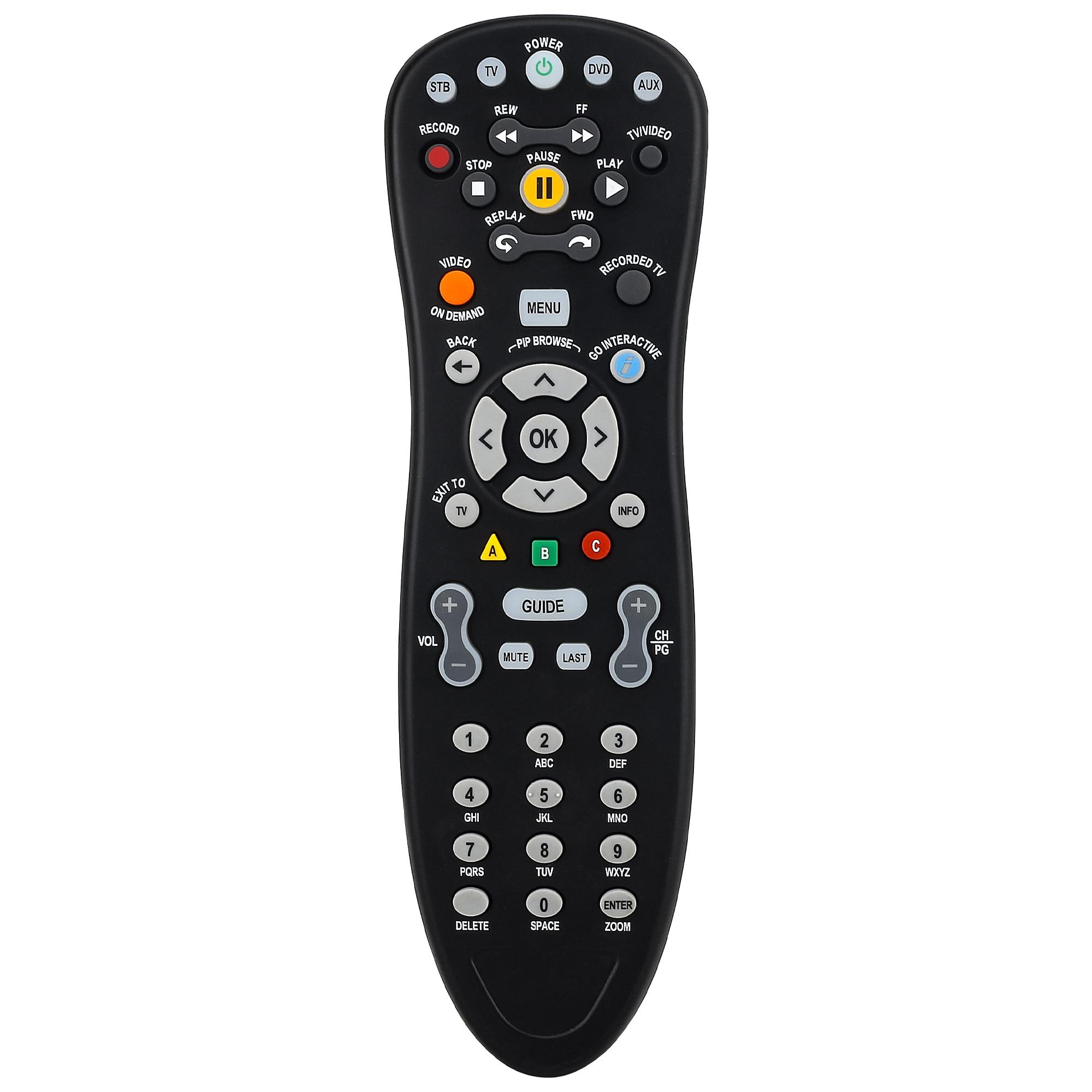 Novo controle remoto adequado para claro telus lcd tv rc1534847/01b rc1534848/04 controlador